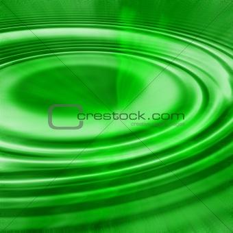 green ripples light