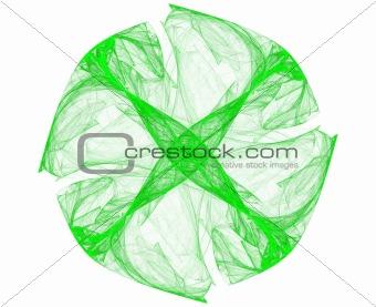 green round dice