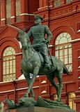 Marshal Zhukov&#39;s statue