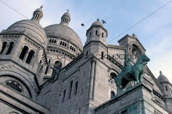 Beautiful Sacre Coeur in Paris