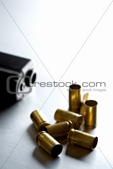 bullets with gun