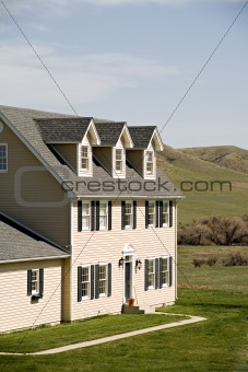 new rural american home