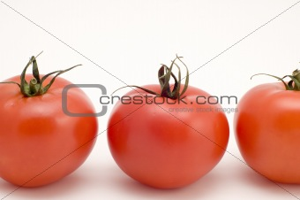 Three tomato macro