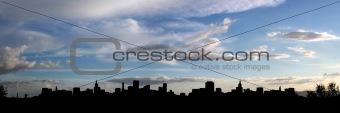 City silhouette (panorama)