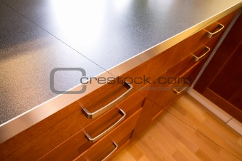 Kitchen Counter and Drawer