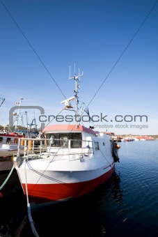 Fishing Boats at Dock