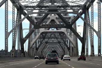 Cars on Bay Bridge