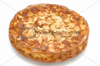 round Apple pie