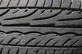 rubber tire detail