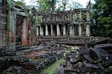 Ruin temple at Angkor Wat, Cambodia
