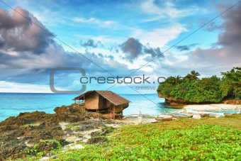 Fisherman hut