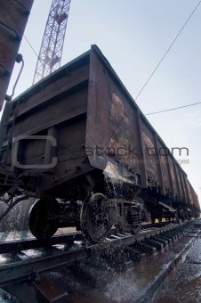 car transport train