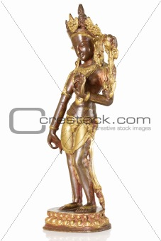 Ancient Statuette of Parvati