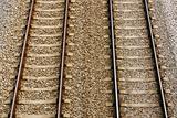 Railway track pair