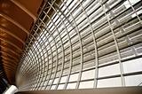 geometric ceiling