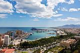 Malaga Cityscape - Day