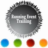Running Event Training Circle