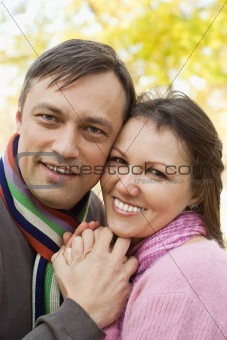 happy nice couple