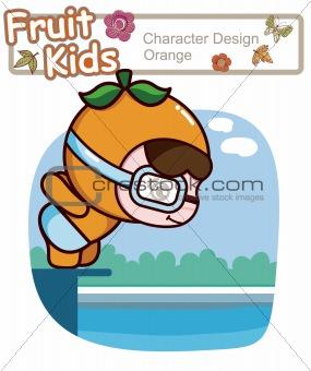 Active Child Swimming