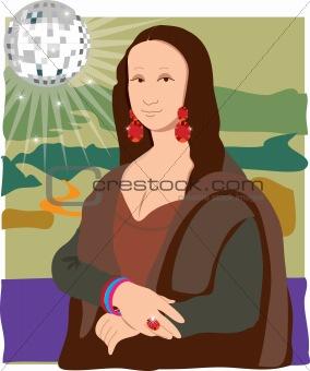 Mona Lisa Disco Lady