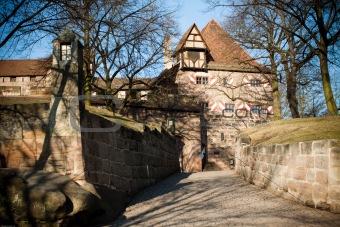 old city in Nurenberg, Germany