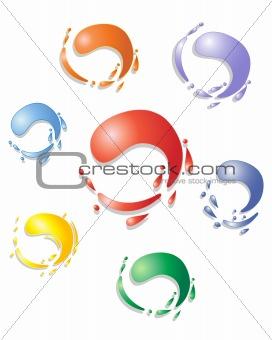 paint swirls