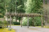Trellis at Portland Japanese Garden