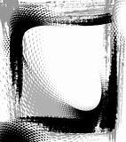 grunge frame, vector