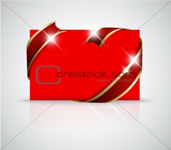 Christmas or wedding card