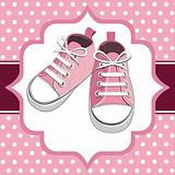 Pink kids sneaker