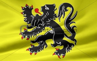 Flag of Flanders - Belgium