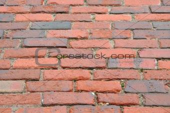 Brick Road Background