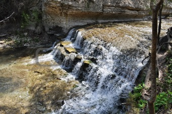 Chalk Ridge Texas Waterfall