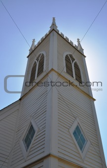 Church tower georgetown texas