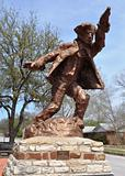 Hico Texas Brushy Bill Statue