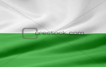 Flag of Saxony - Germany