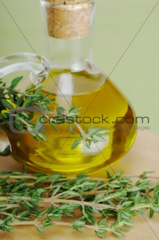 Thyme and Olive Oil