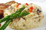 Asparagus with Rice