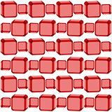 seamless red cubes texture