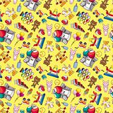 seamless playground pattern
