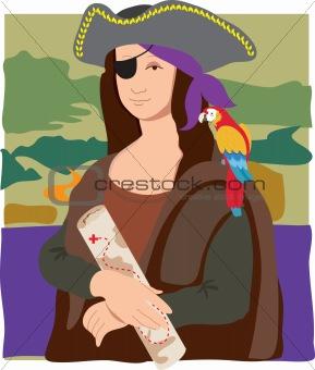 Mona Lisa Pirate
