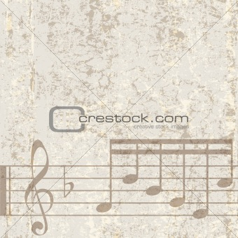 abstract cracked music background
