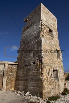 Fort Ricasoli Gun Tower