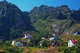 Settlement on the Lofoten Islands