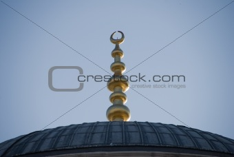 Top decoration of The Blue Mosque