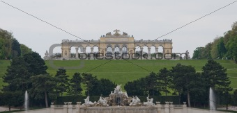 Arc in Schoenbrunn Palace in Vienna