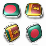 3d bangladesh and srilankaflag button