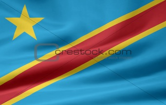 Flag of the Democratic Republic of Congo