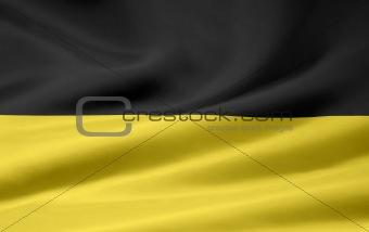 Flag of Baden Wuerttemberg - Germany