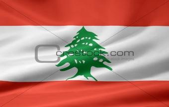 Flag of the Lebanon